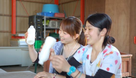 むらかみ牧場/アイスクリーム作り体験の写真