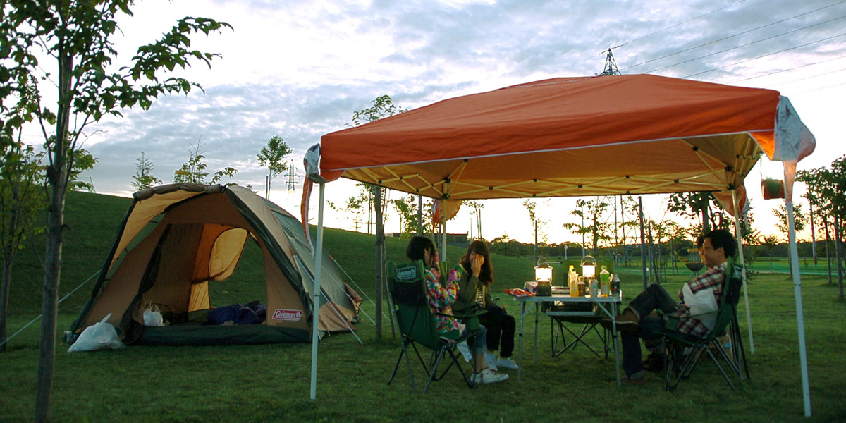 Enjoy camping, where all you need to bring is yourself! imgae