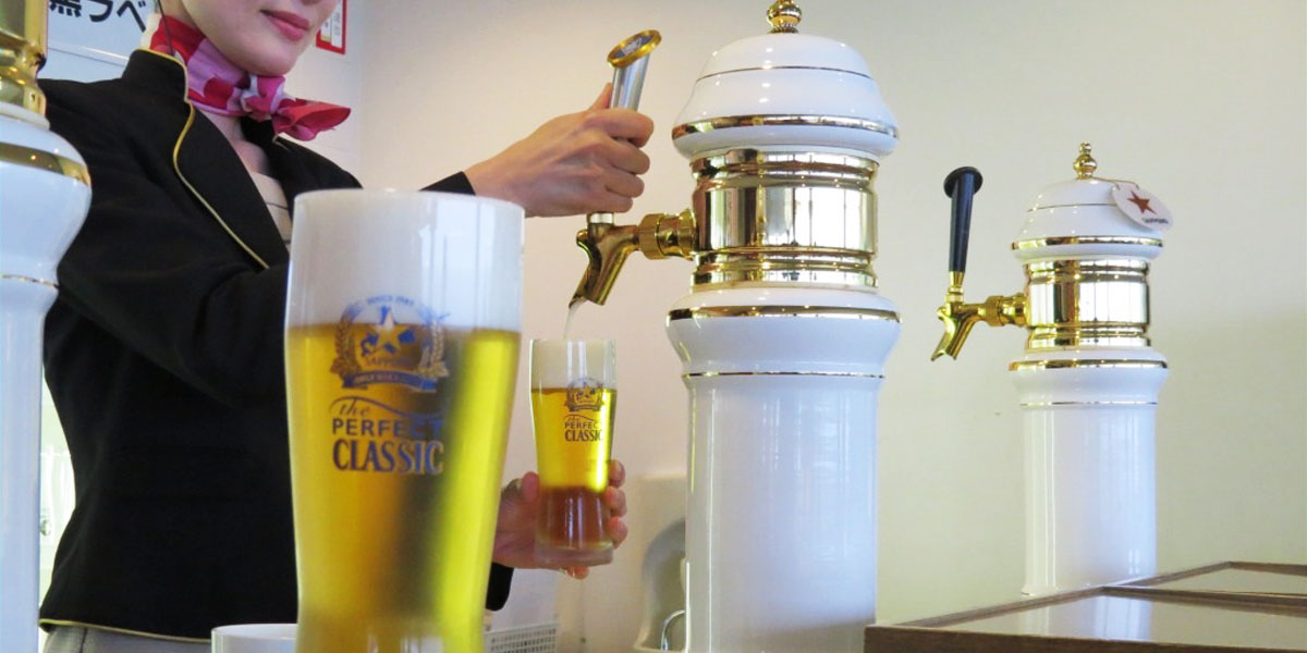 Watch how the leading beer is made with the essence of Hokkaido's beautiful nature imgae