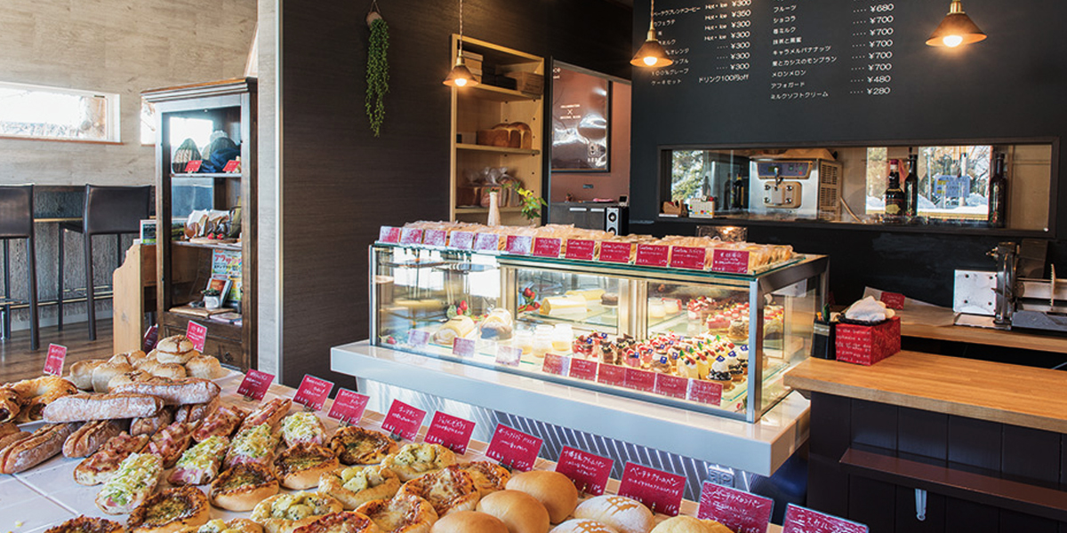 Discover a wide variety of delicious breads and cakes imgae