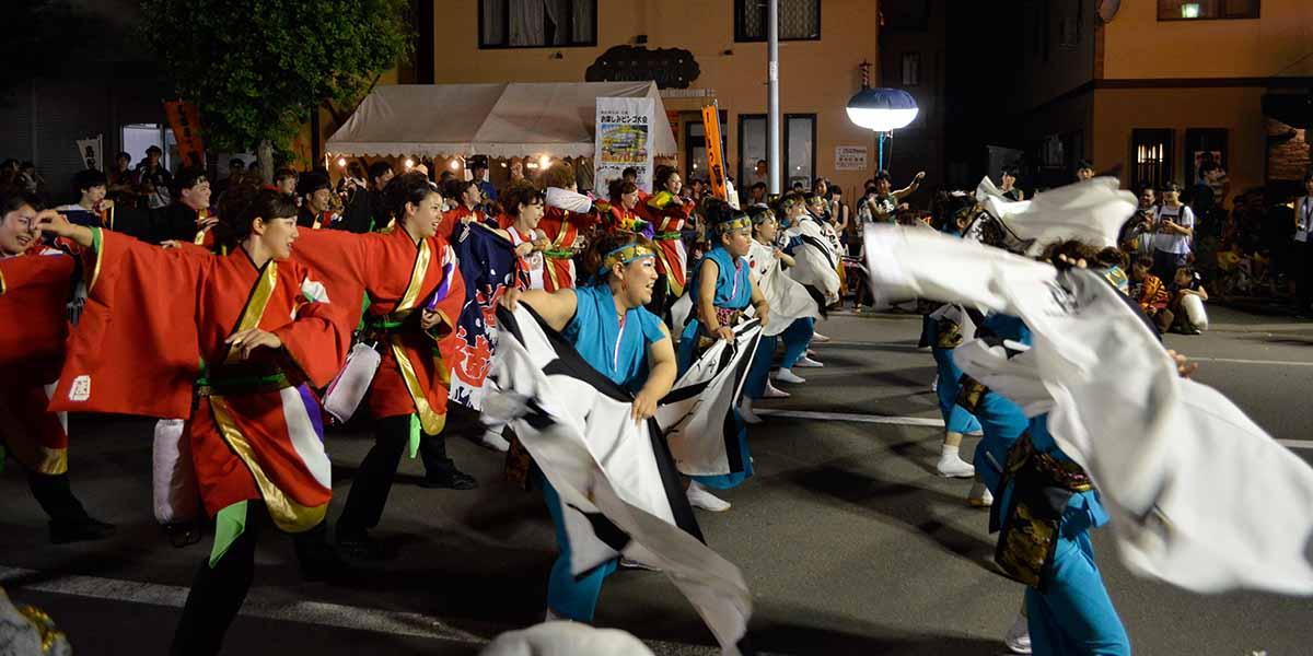 島松鳴子祭のメイン写真