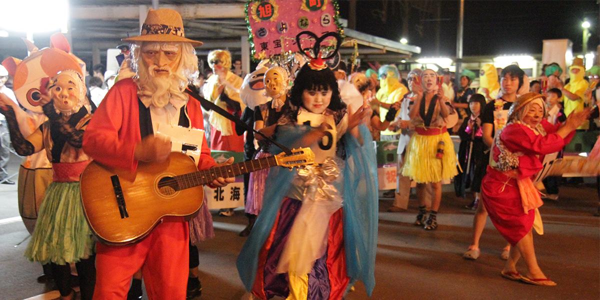 島松駅前盆踊りのメイン写真
