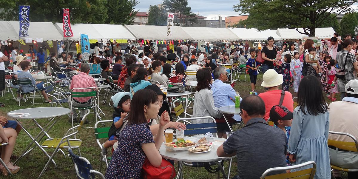 Eniwa Ekidouri Summer Festival main image