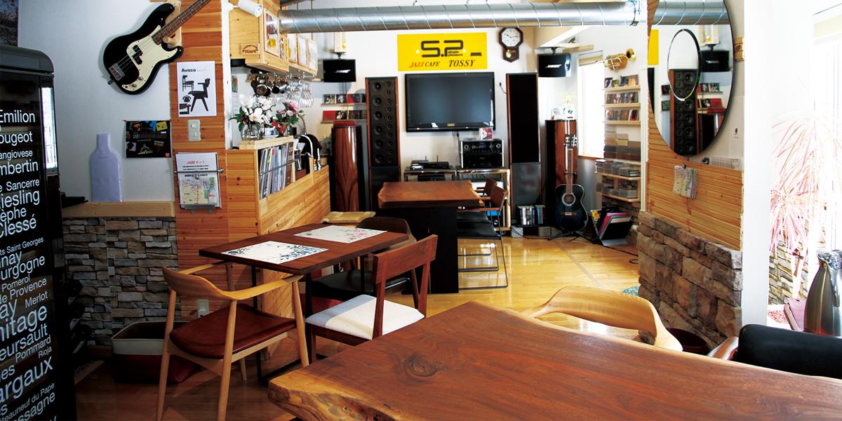 JAZZ CAFE TOSSY main image
